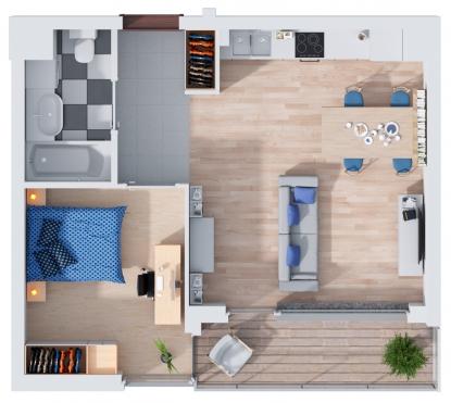 Mieszkanie 4.6 (28)